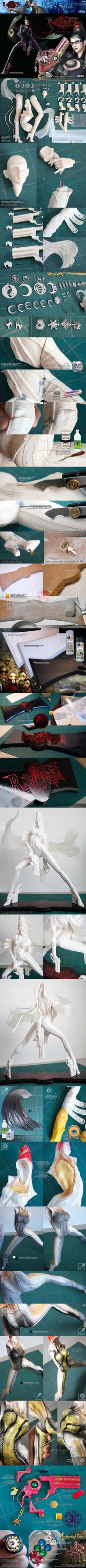 1-4 Bayonetta WIP by ogamitaicho