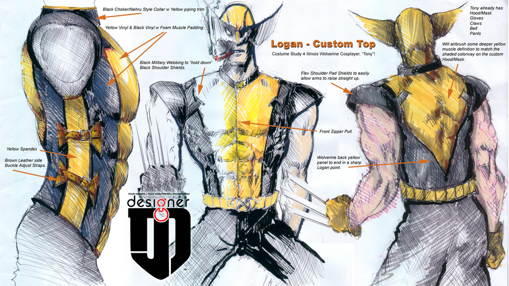 Cool Wolverine Costume 4 While Battling The Shiu0027ar Imperial
