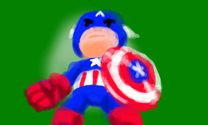 Captain America Speedpaint