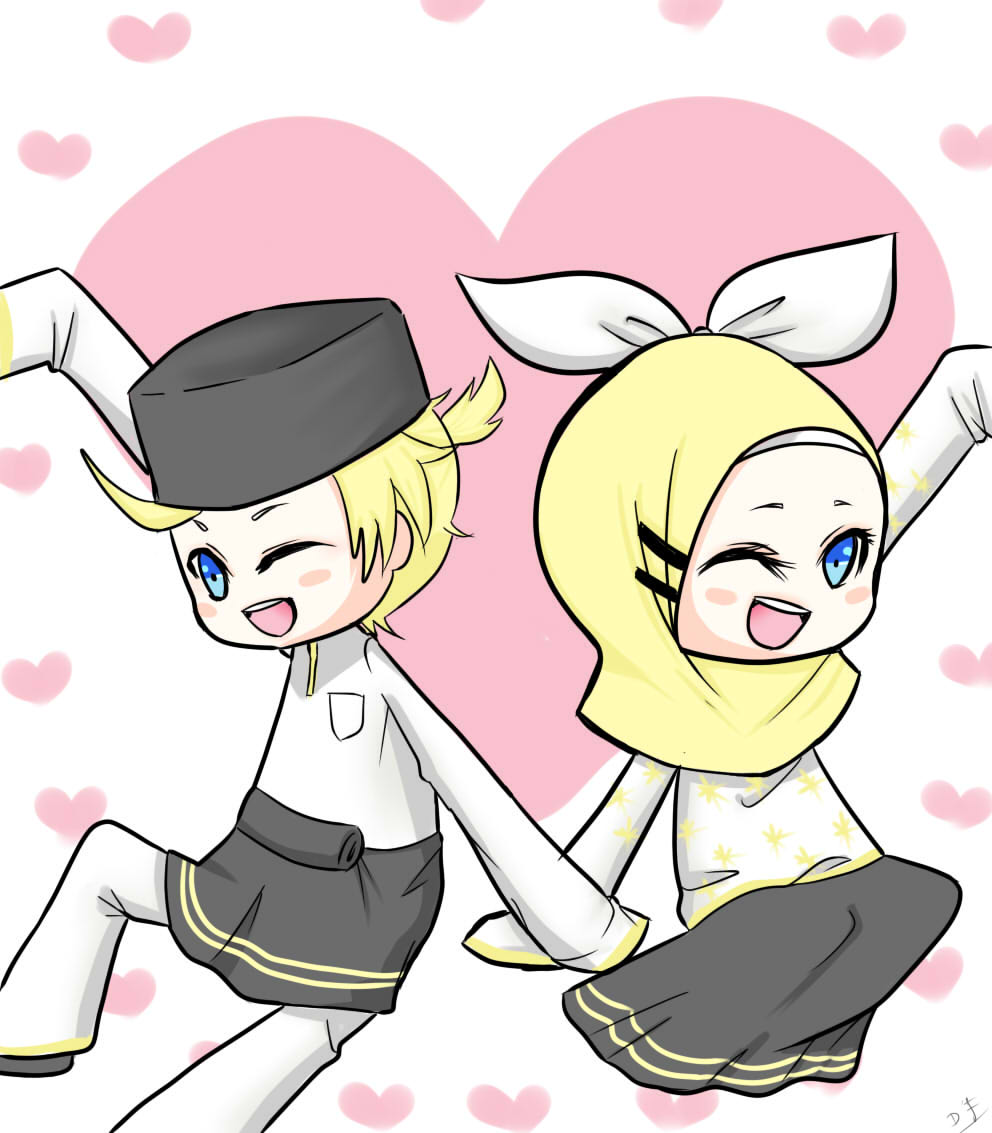 Anime Muslim Love Www Imgkid Com The Image Muslimah Dan