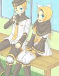 adorable little twins~