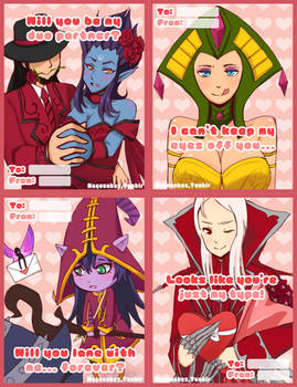 League Valentine (print outs)!