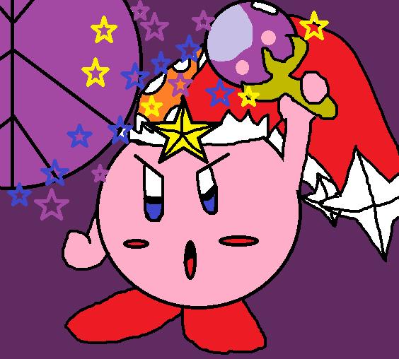 Flare Beam Kirby by Magolorsteeler75 on deviantART
