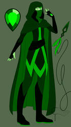 Chrome Diopside Flat Ref Sheet by CloudTrapper