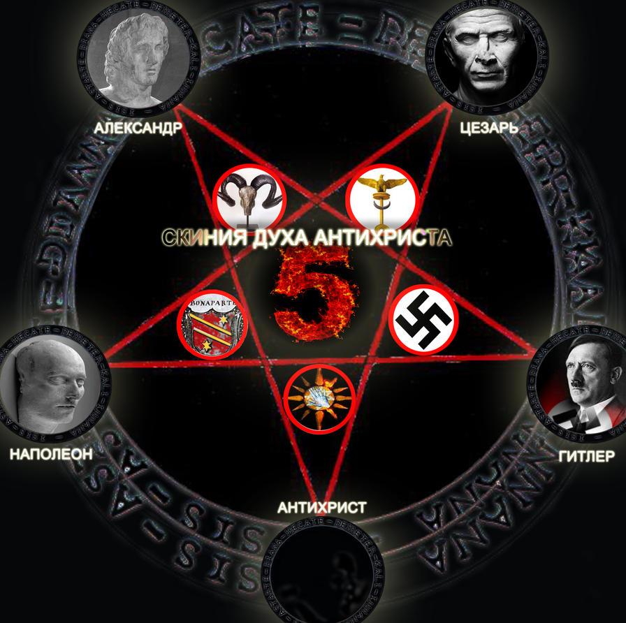 антихрист как он выглядит