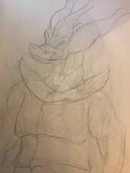 (Sketch) Dragonborn