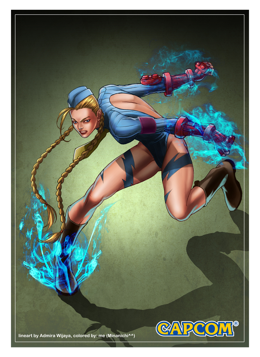 cammy coloring practice by Celestial-83