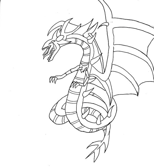 Image For Winged Dragon Of Ra Coloring Pages Best Free