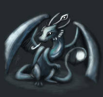 Ice Dragon by Kuromio