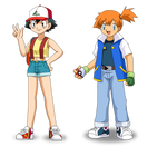 Ash Misty Head swap