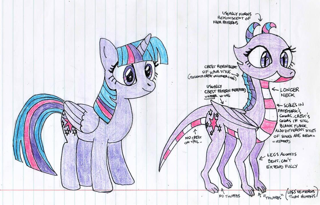 MLD:FIP dragon example ft. twilight sparkle