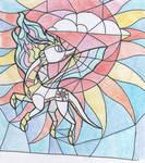 MLD:FIP Celestia's glass mosaic