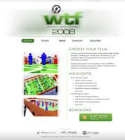 wtf2008 Web Mockup by macduy