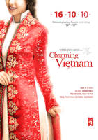 Charming Vietnam Poster by macduy
