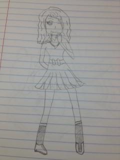 Another random girl by purpleandgreenjewl