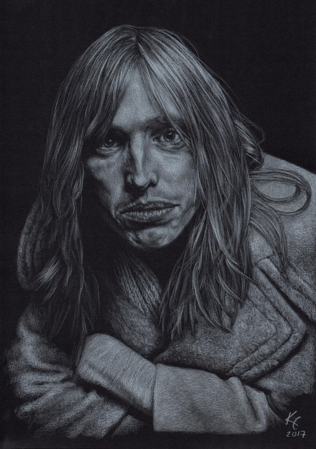 Tom Petty by MissKuney