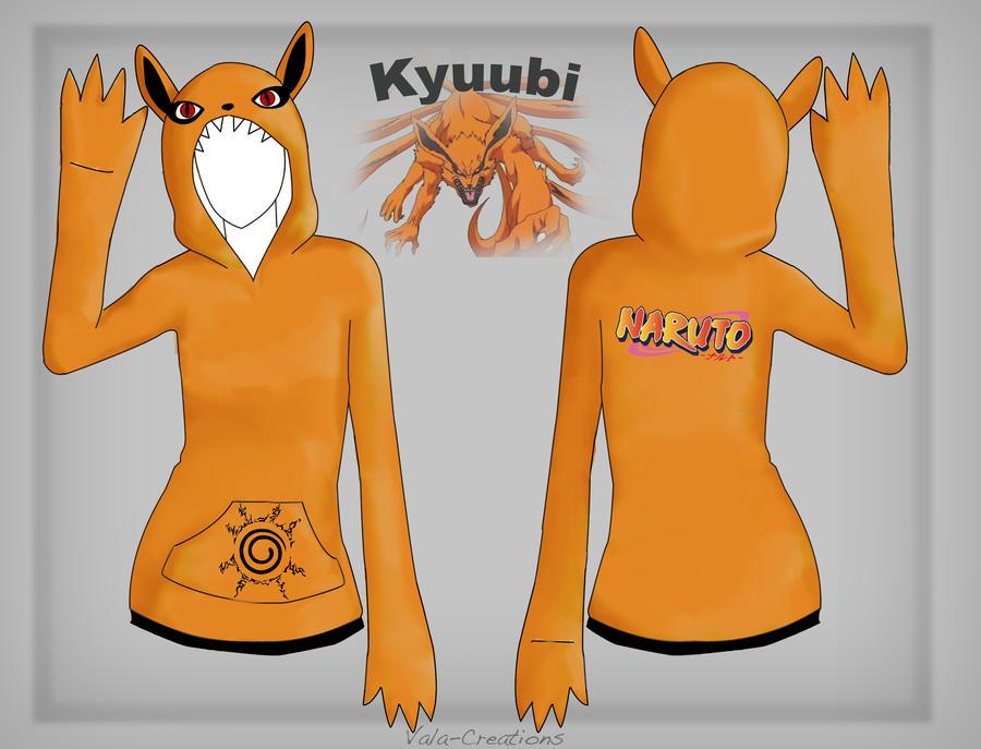 Kyuubi hoodie design by Vala-Creations