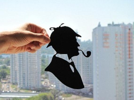 Sherlock Holmes Handmade Original Papercut by DreamPapercut