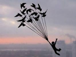 Higher than Sky Handmade Original Papercut by DreamPapercut