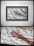 Tree Branches Handmade Original Papercut