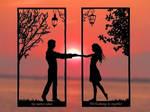 Boundless Love Handmade Original Papercut