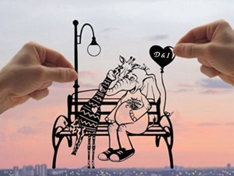 True Love Handmade Original Paper Cut
