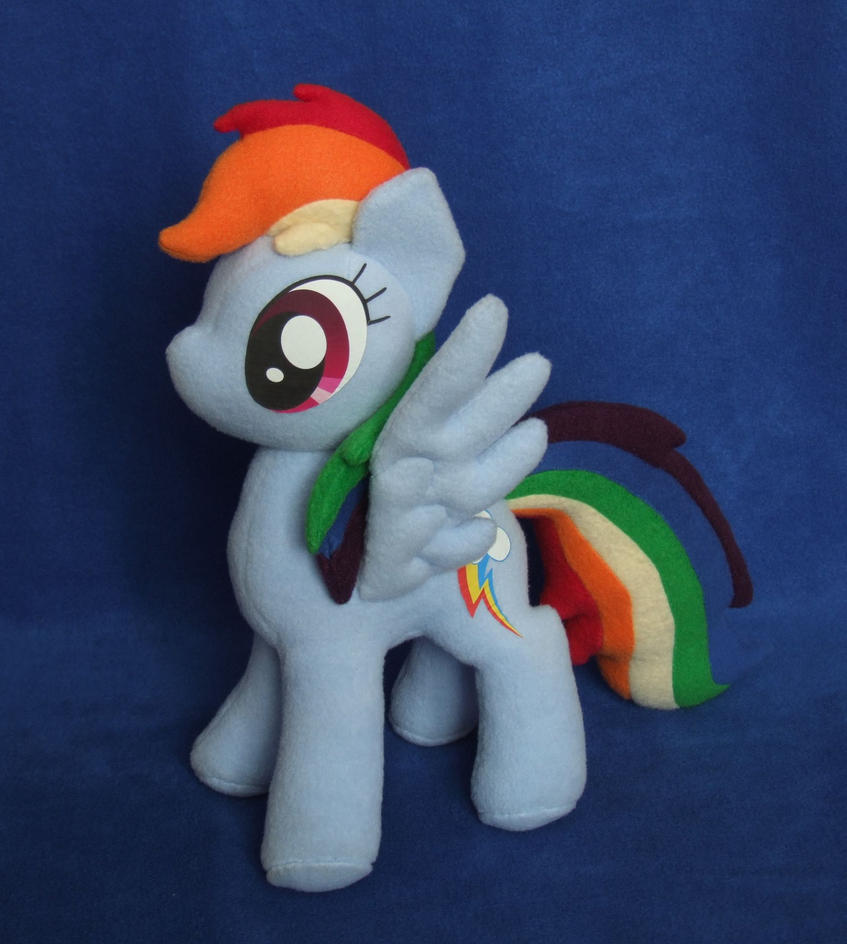 Rainbow Dash V4 plush