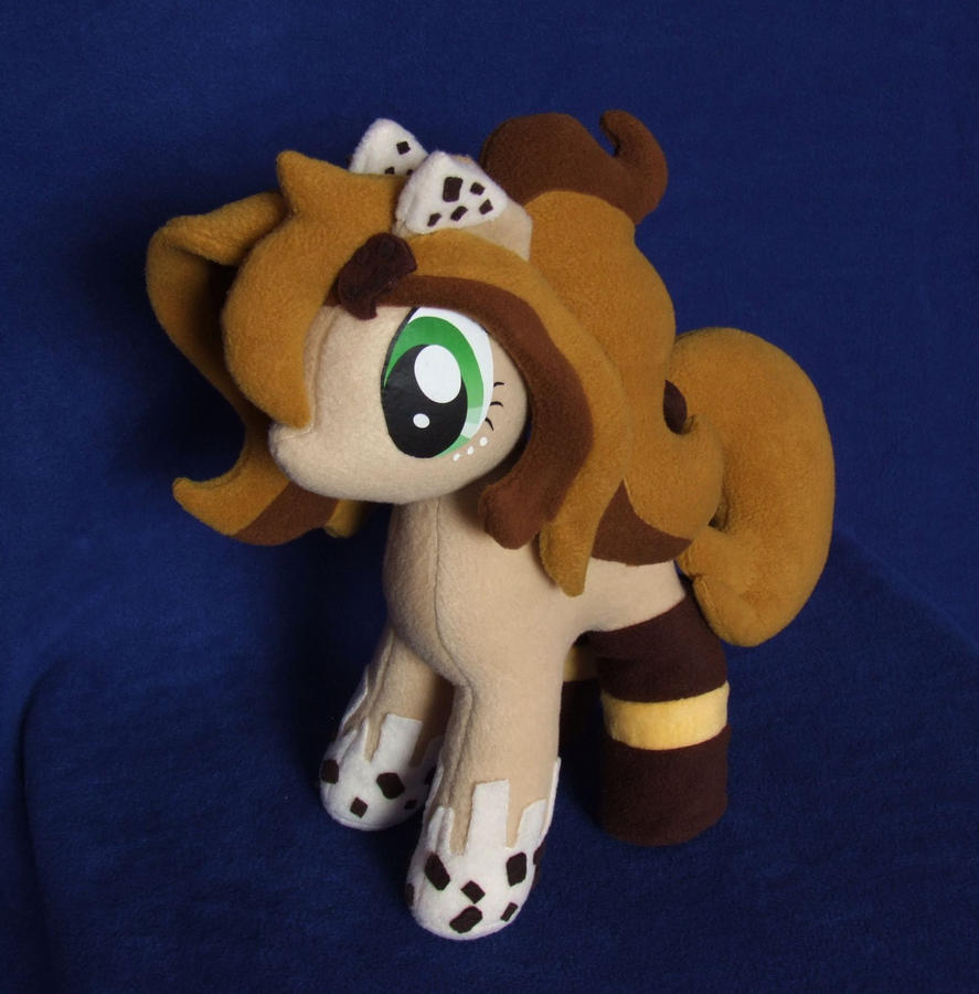 OC Cookie Crumbs MLP plushie by adamar44