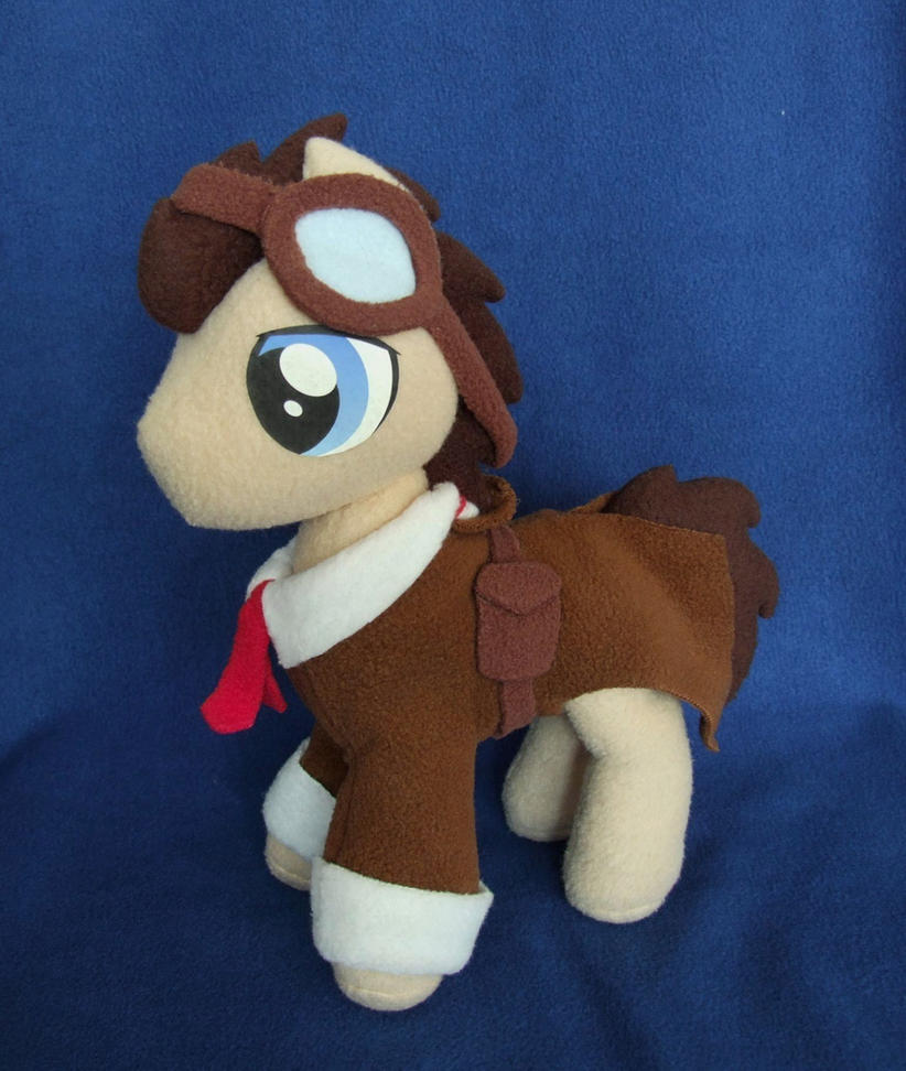 Whooves MLP plushie by adamar44