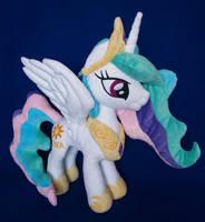 Princess Celestia MLP plushie by adamar44