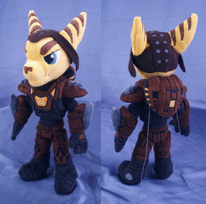 Ratchet in Marauder Armor plushie