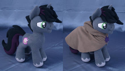 Shadow Lock MLP plushie by adamar44