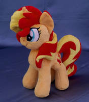 Sunset Shimmer MLP plushie by adamar44
