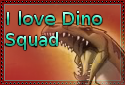 I Love Dino Squad stamp by Bluedramon