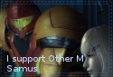 I Support Other M Samus by Bluedramon