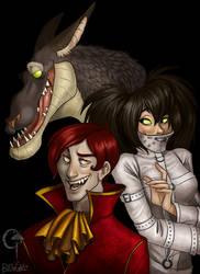 Demonic trio by Gerwell