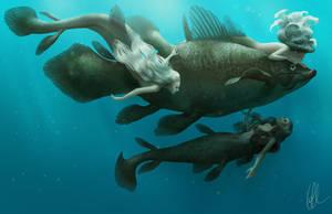 Mermaids by Gerwell