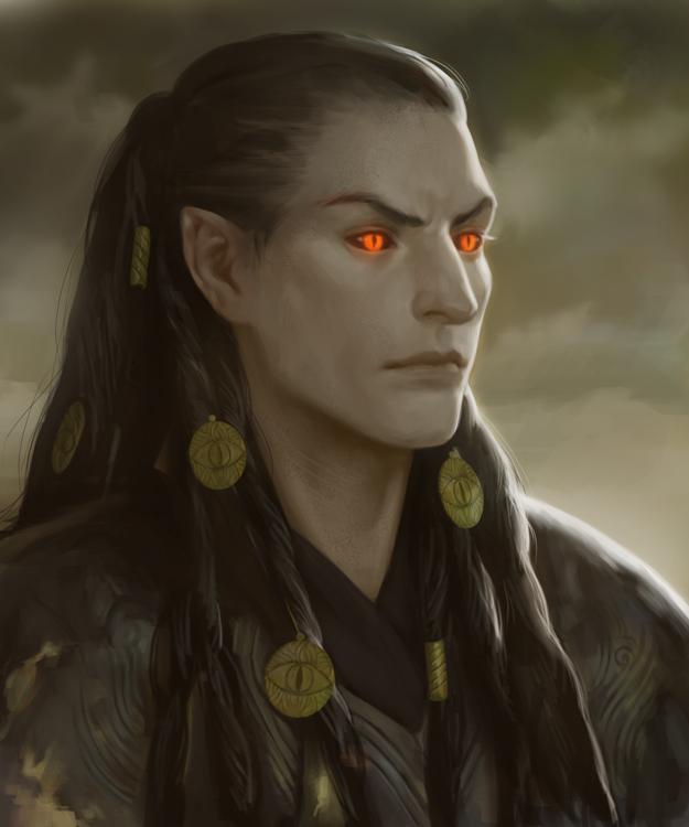 Sauron/Gorthaur by Gerwell