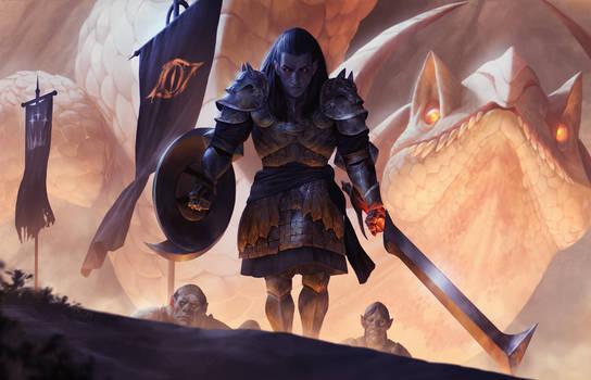Sauron and Glaurung