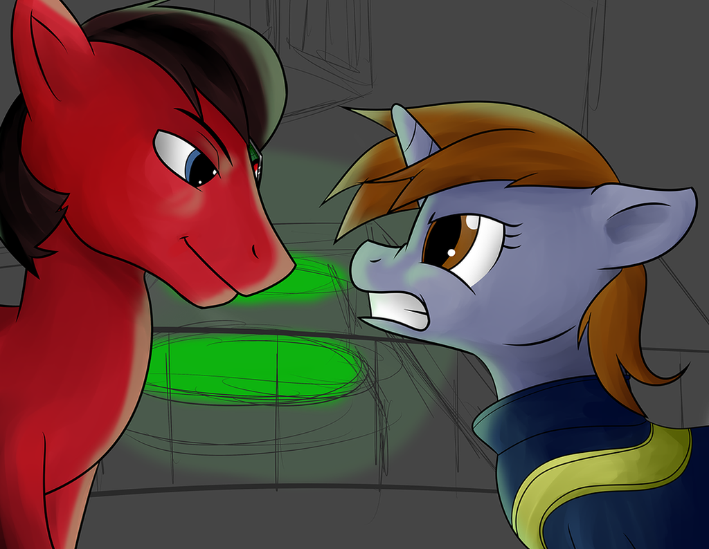 Staredown by Acesential