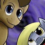 Doctor Whooves and Derpy