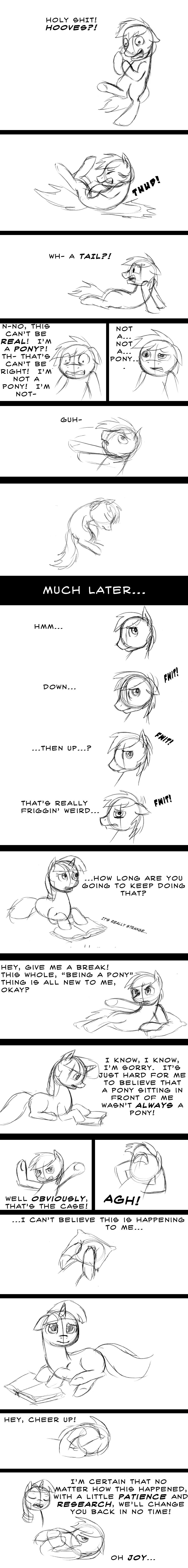 I'm a Pony?!
