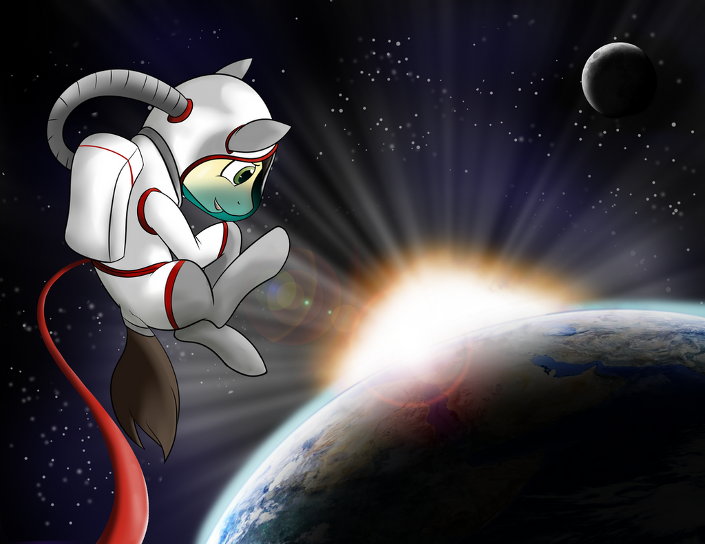 Space Calpain Pony by Acesential