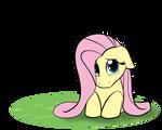 Commish- Bashful Fluttershy