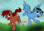 Penn and Webley: The Daring Escape from Ponyville!