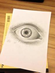 realistic eye by dvir5335