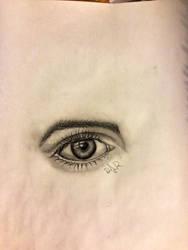 eye drawing by dvir5335