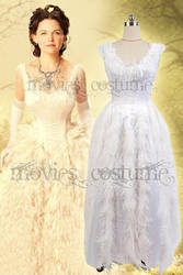 Once Upon a Time Snow White White Dress Costume by moviescostume