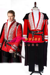 Once Upon a Time Prince Charming Outfit Costume by moviescostume