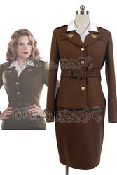Agent-peggy-carter-suit-cosplay-costume by moviescostume